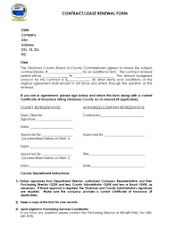 Renewal Letter Template 36 Best Lease Renewal Letters Forms Word Pdf