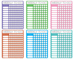 printable task lists dotty printable weekly to do checklists free printable downloads