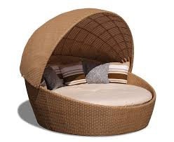 round wicker daybed wicker woven daybed with canopy