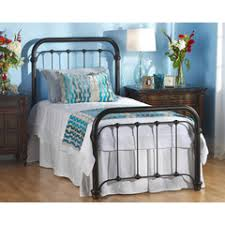 braden iron bed wesley. Braden Metal Bed, Wesley Allen, Collection Iron Bed B