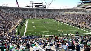 Notre Dame Stadium Section 27 Rateyourseats Com