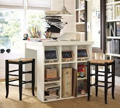 pottery barn bedford rectangular office desk. Home-office-craft-table-pottery-barn Pottery Barn Bedford Rectangular Office Desk