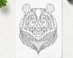 Small Picture Printable Animal Head Coloring Pages Goat Pattern Coloring