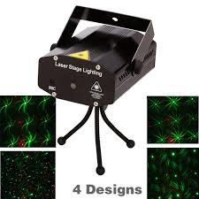 retail 150mw 4in1 mini laser stage lighting effect laser projector party dj disco light 110