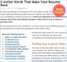 Action Verbs For Resumes And Cover Letters Artemushka Com