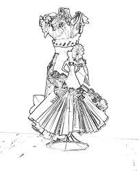 Elsa Jurk Kleurplaat