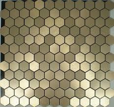 Mosaic Pattern Interesting self adhesive Aluminum composite mosaic tiles kitchen backsplash