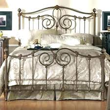 Iron Bed Bedroom Ideas Wrought Iron Bed Frame King Size Iron Bed ...