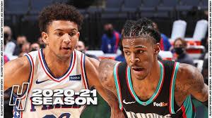 Philadelphia 76ers vs Memphis Grizzlies ...
