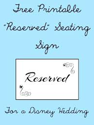 Reserved Signs Templates Printable Reserved Signs Table Templates In Parking Pradeepraja