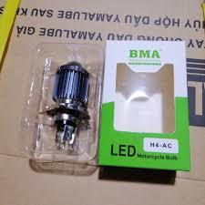 Bóng đèn LED xe máy BMA 3 chân H4 giảm tiếp 95,000đ