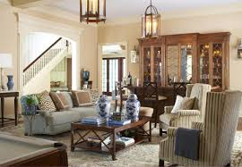 Wooden Cabinets For Living Room Simply Victorian Style Living Room With Hanging Candle Lantern And