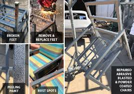 metal patio furniture repair