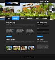 real estate free free website template real estate