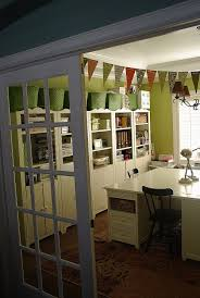 dining room and office. My Dining Room Turned Craft Office And Show Off YOUR Space