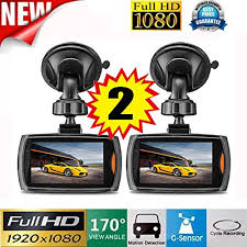 car recorder ziyuo 2 pces 1080p full hd car dvr vehicle dash