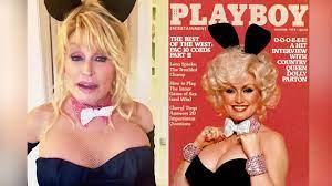 VIP-News im VIdeo: Dolly Parton stellt altes Playboy-Cover nach