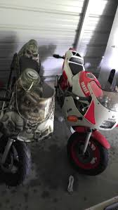 yamaha ysr and honda pit bike for sale or trade motorcycles in