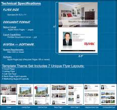 mac flyer templates for real estate specialized real estate i