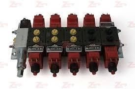 miller 5 spool parker electrical control valve