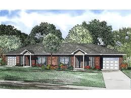 Duplex Floor Plans  amp  Duplex House Plans   The House Plan ShopDuplex Home Plan  H