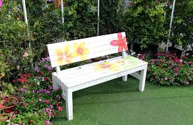 garden bench cool a decorative is good match for colorful this benches wooden john lewis bathroom