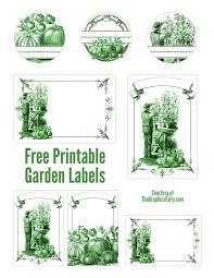 garden labels. Garden Mason Jar Labels // The Graphics Fairy. \u003e\u003e