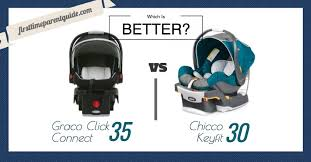 infant car seat the graco snugride connect 35 vs chicco keyfit 30
