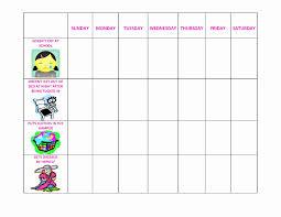 50 Preschool Behavior Chart Template Culturatti