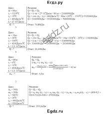 Решение контрольные работы кр вариант № по Физике   ГДЗ Решебник по физике 8 класс дидактические материалы Марон А Е