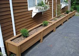 planter box designs big planter box plans best way to do gardening with planter box