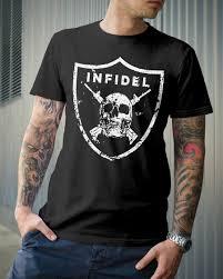 Infidel Grunt Style Graphic T Shirt Cool Casual Pride T Shirt Men Unisex New Fashion Tshirt Free Shipping Tops Ajax T Shirts