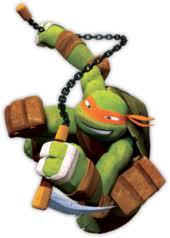 ninja turtles michelangelo. Perfect Ninja Michelangelo As Depicted In The Nickelodeon TV Series To Ninja Turtles Michelangelo E