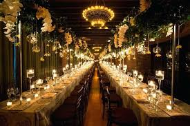 Rectangle Tables Wedding Reception Rose Rectangle Table Centerpieces Dining Gold Centerpiece
