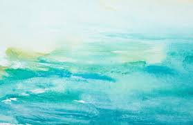 Turquoise Watercolour Wallpaper Muralswallpapercouk In 2019