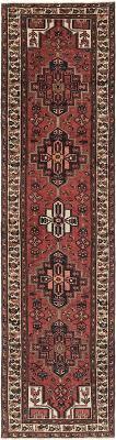 main 3 4 x 12 4 khamseh persian runner rug photo