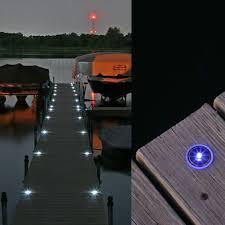 led dock lights. Lake Lite Solar Dock Dots, 4pk, Amber LED Lights Led G