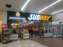 walmart supercenter subway. Modren Supercenter Subway U0026 Auntie Anneu0027s  By Random Retail In Walmart Supercenter