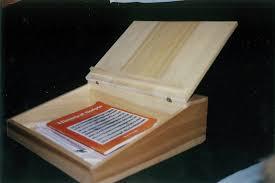 wooden lap desk by jarm13
