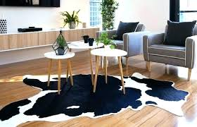 faux cowhide rug design and decor medium size living room cow skin fake bear brown dash faux cow hide rug