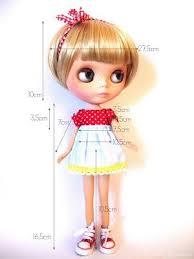 Blythe Doll Size Chart Little Ladies Blythe Doll Body Measurements Blythe Dolls