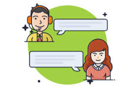 Call centers are sites of opportunity; Consultation With Customer Service Icon Graphic By Bayu Febrianto Creative Fabrica