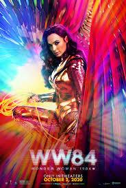 Gal Gadot Wonder Woman 1984 Poster Sports New October Release Date
