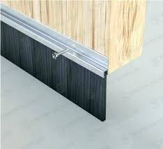 garage weather strips garage door side seal garage door side weather seals garage door garage doors