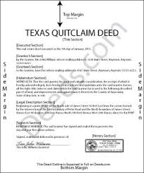 quick claim deed form texas texas quit claim deed forms deeds com