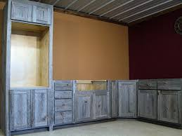gallery of barnwood kitchen cabinets creative with additional home