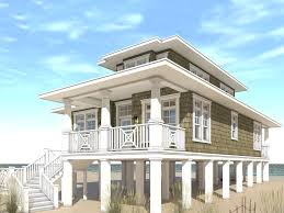 beach house plan 052h 0092