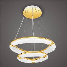 led pendant light elovea com rose gold led ring