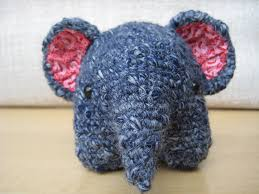 Crochet Stuffed Elephant Pattern Unique Decorating Design