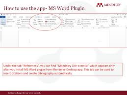 Mendeley Overview Vishal Gupta Customer Consultant South Asia Ppt